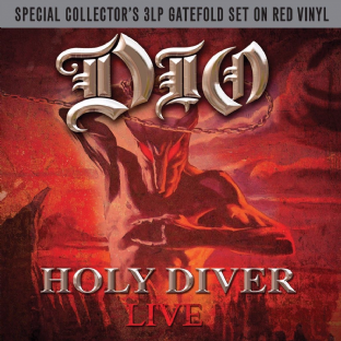 Dio - Holy Diver Live: 30th Anniversary Collector's Edition (Triple LP) (Red Vinyl) (M/M) (Sld)